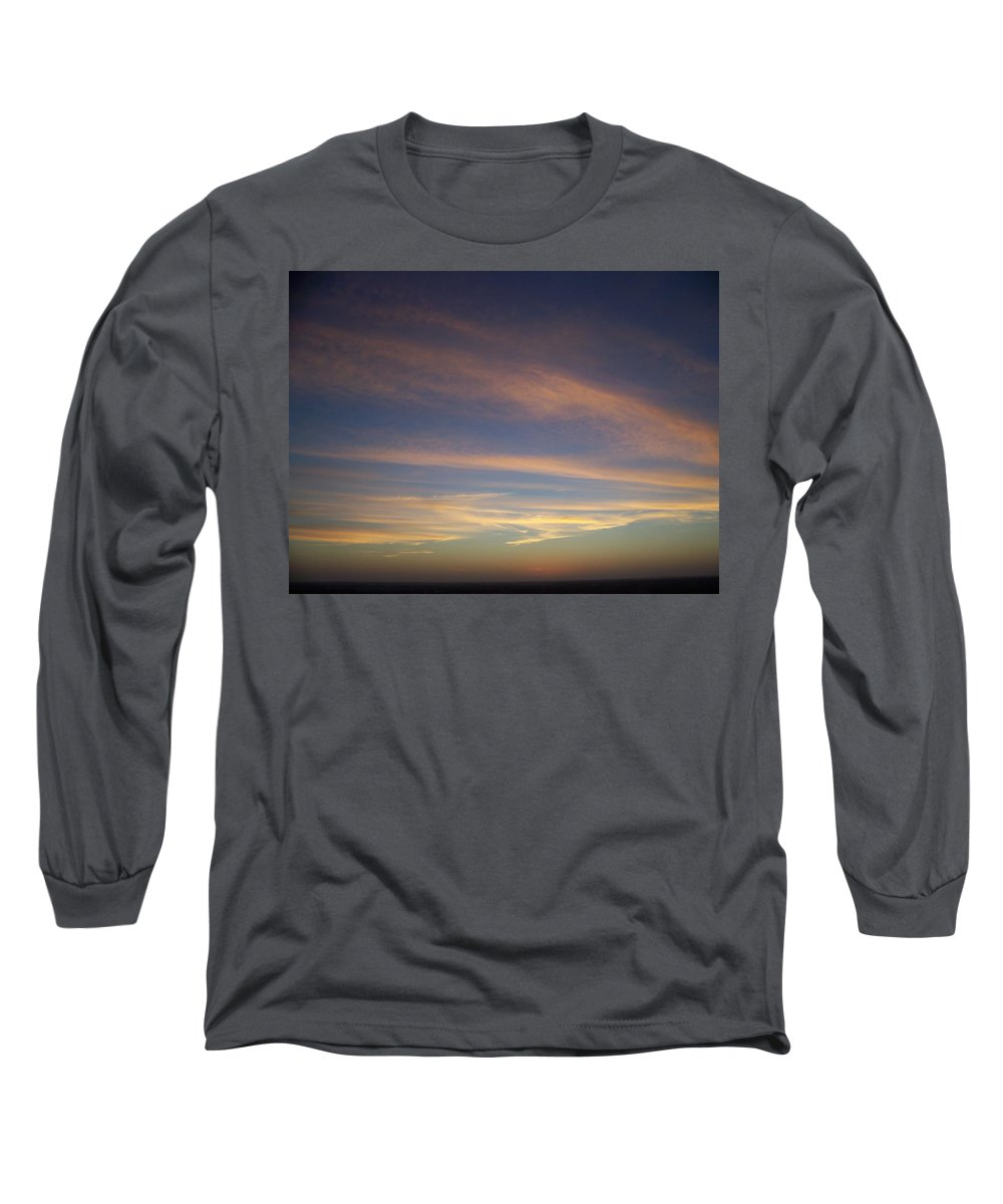 Sunset Long Sleeve T-Shirt featuring the photograph Sunset 0039 by Laurie Paci