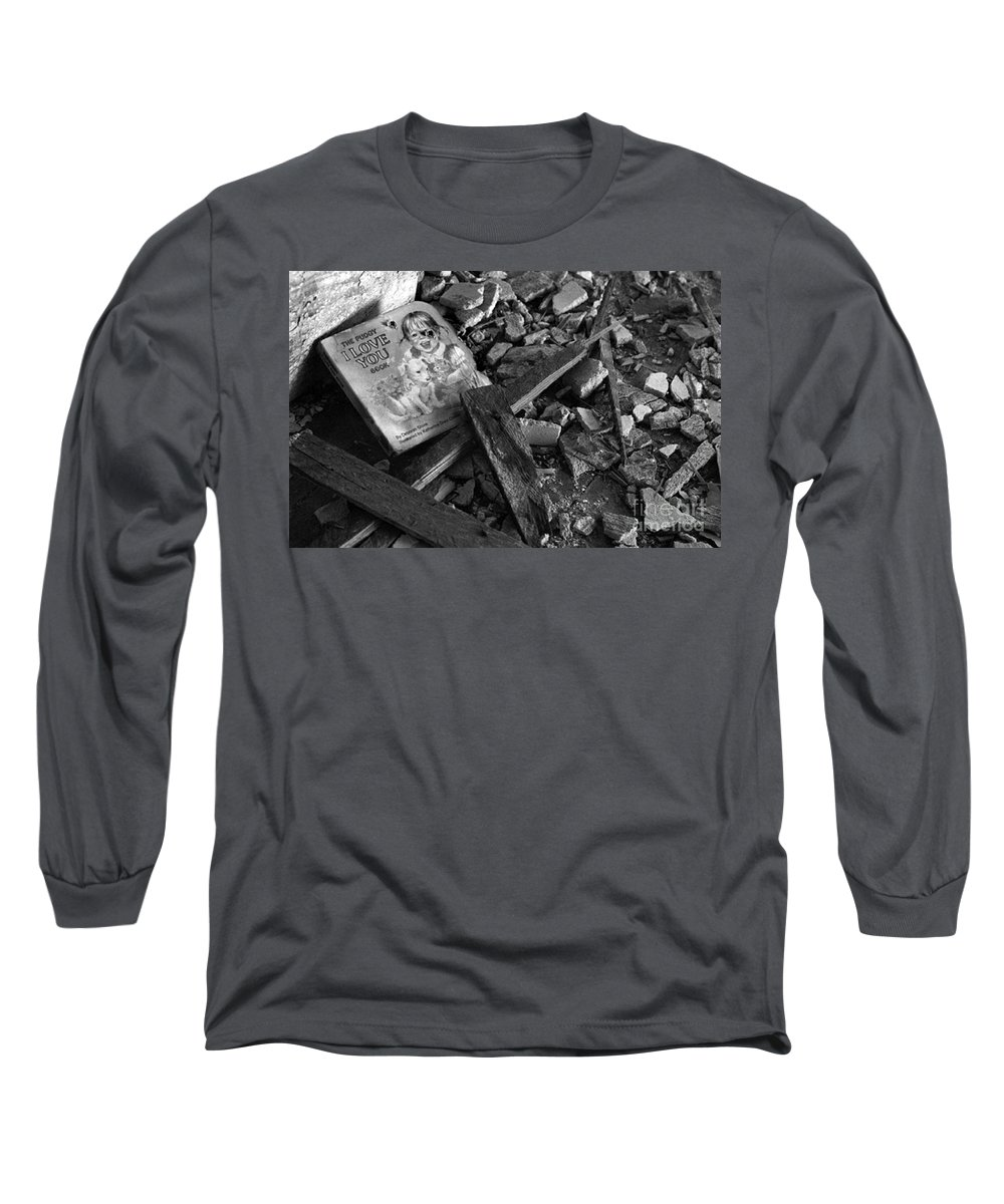 Dark Art Long Sleeve T-Shirt featuring the photograph Tell Me A Story by Peter Piatt