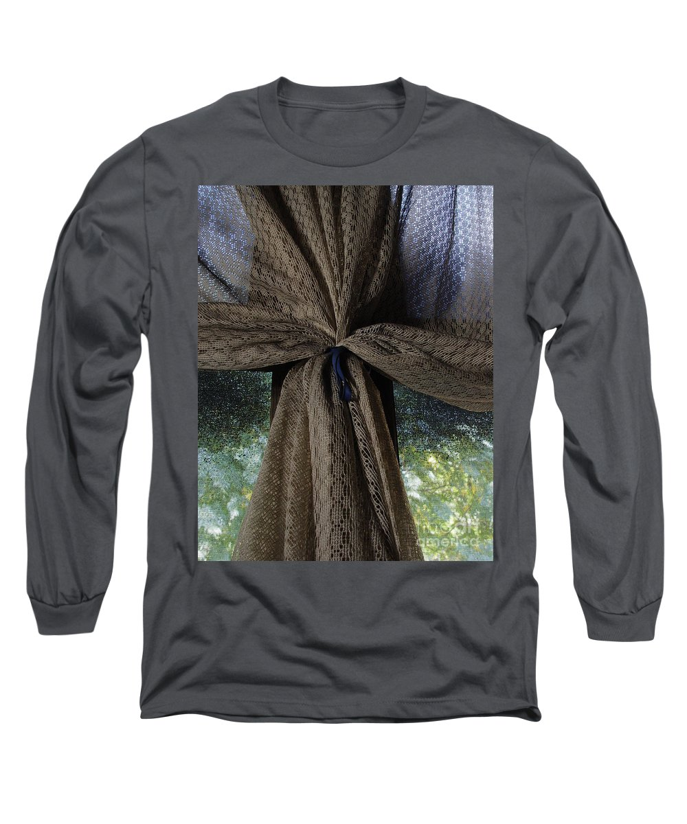 Texture Long Sleeve T-Shirt featuring the photograph Texture And Lace by Peter Piatt