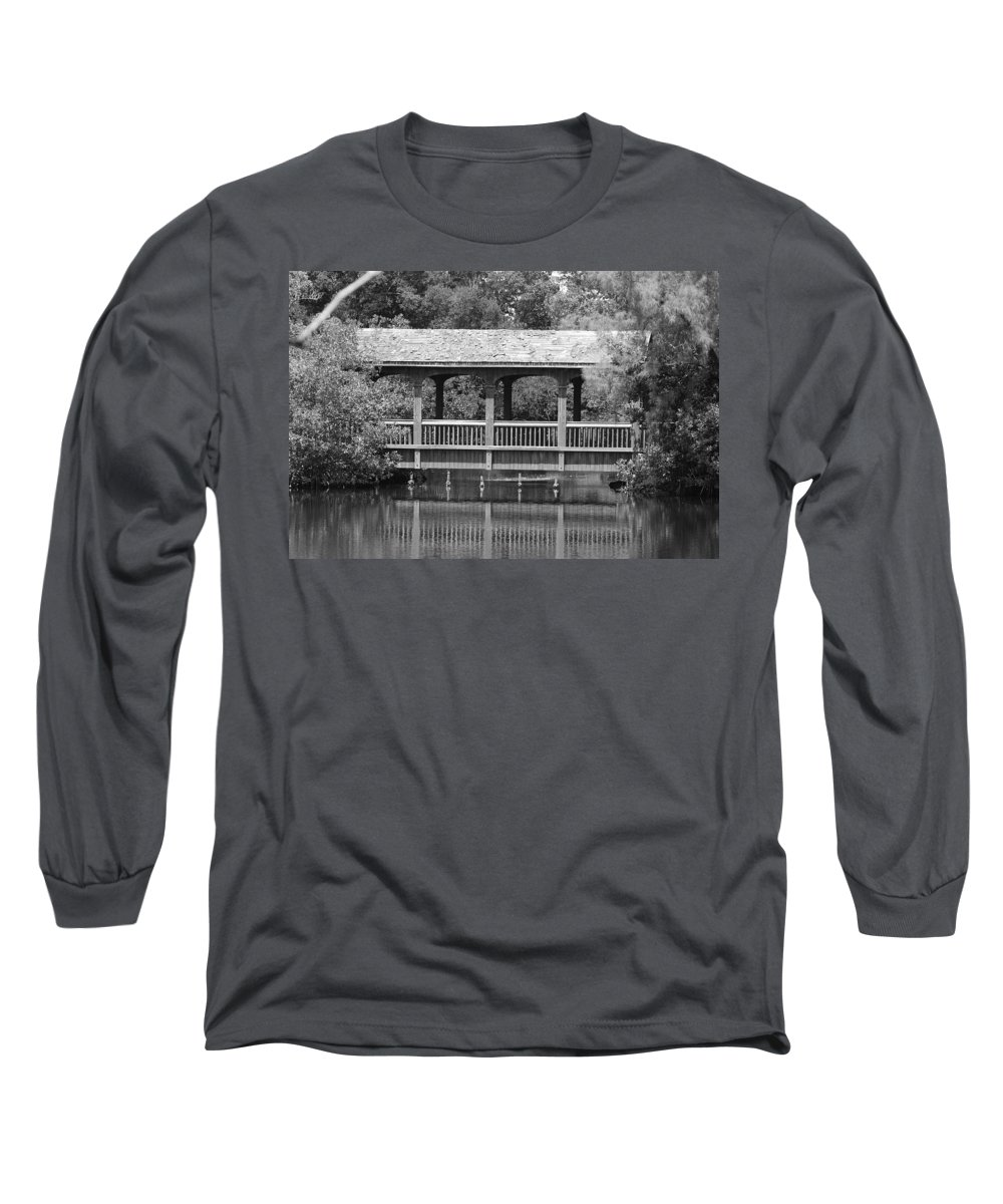 Architecture Long Sleeve T-Shirt featuring the photograph The Bridges Of Miami Dade County by Rob Hans