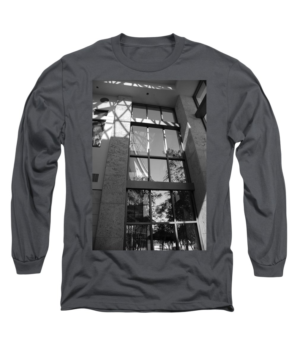 Sun Long Sleeve T-Shirt featuring the photograph The Glass Window by Rob Hans