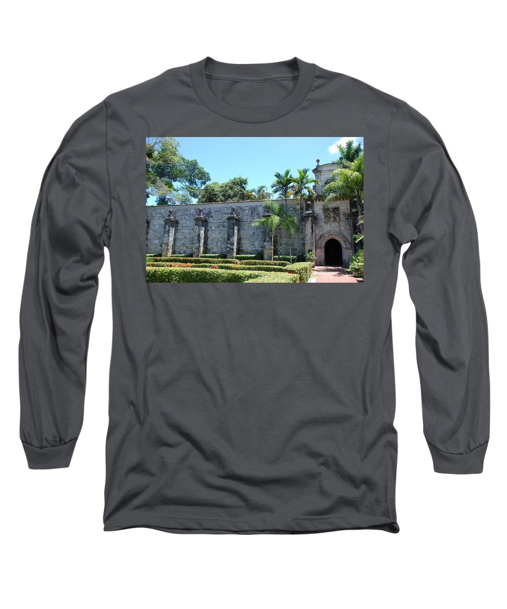 Florida Long Sleeve T-Shirt featuring the photograph The Miami Monastery by Rob Hans
