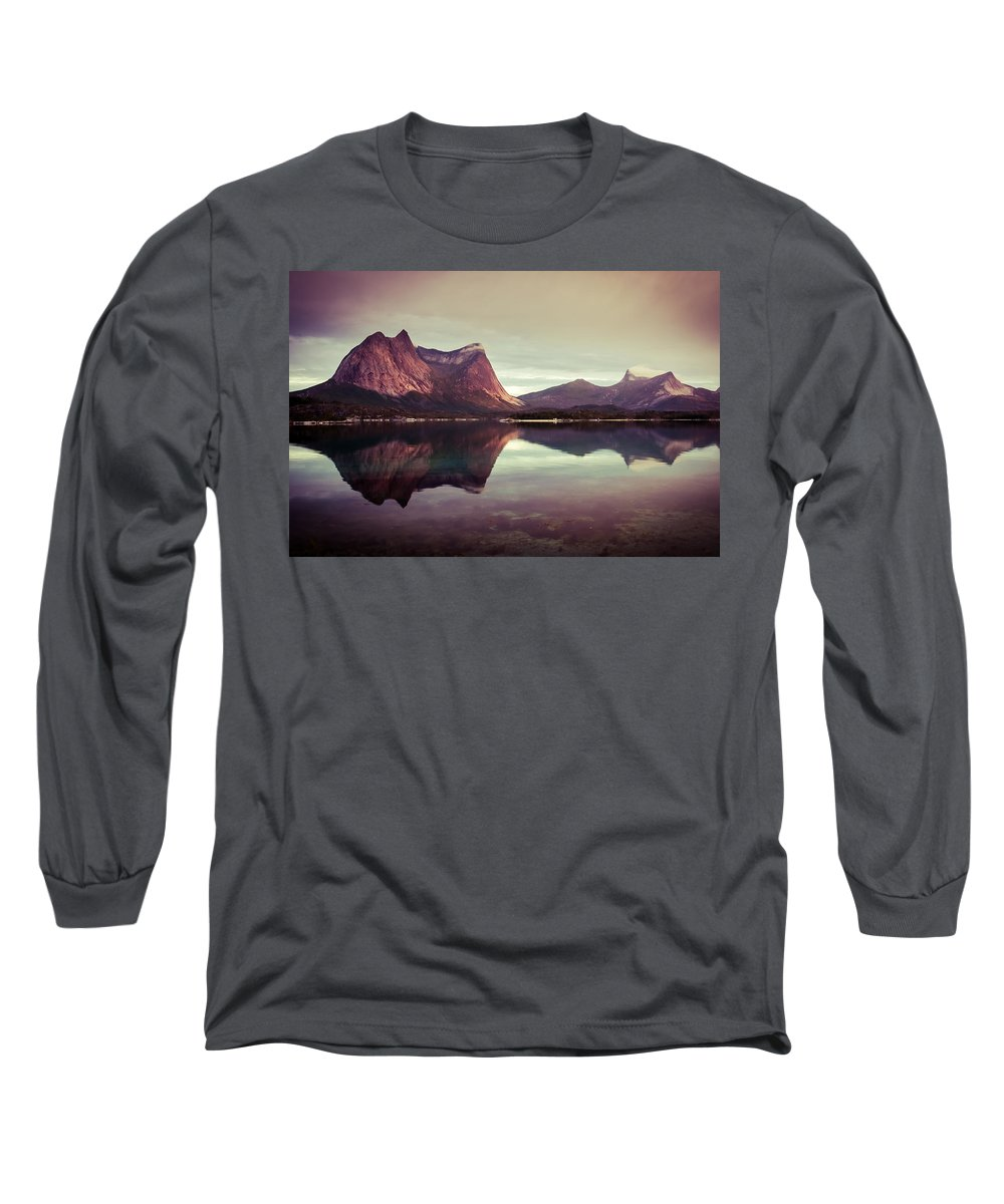 Europe Long Sleeve T-Shirt featuring the photograph The Mirroring by Radek Spanninger