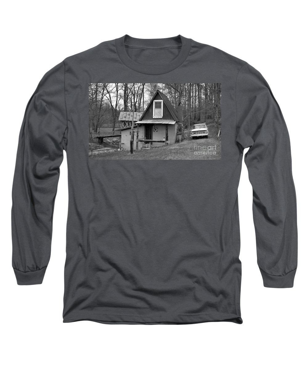 Mill Long Sleeve T-Shirt featuring the photograph The Old Mill by Richard Rizzo