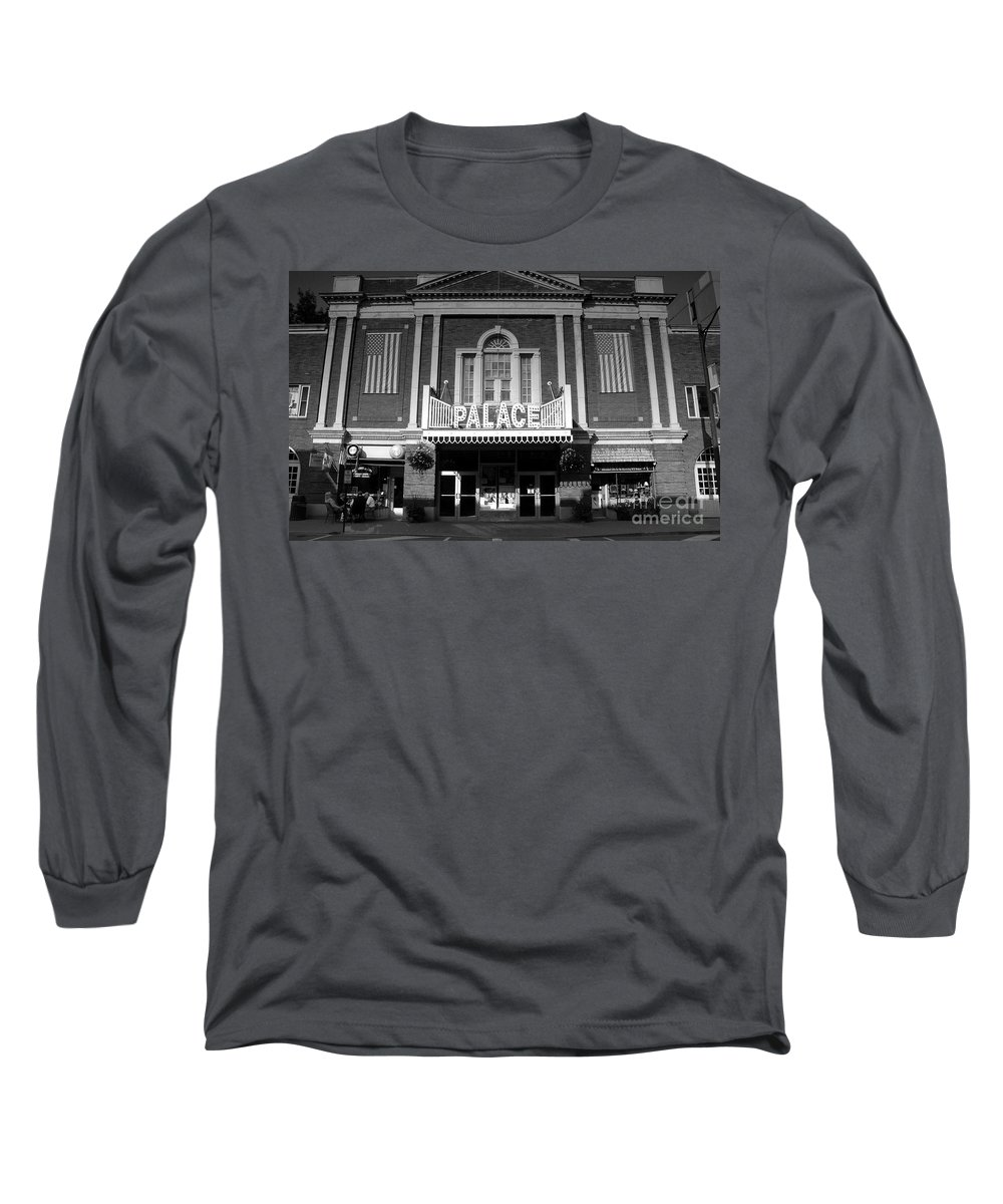 Palace Theater Long Sleeve T-Shirt featuring the photograph The Palace by David Lee Thompson