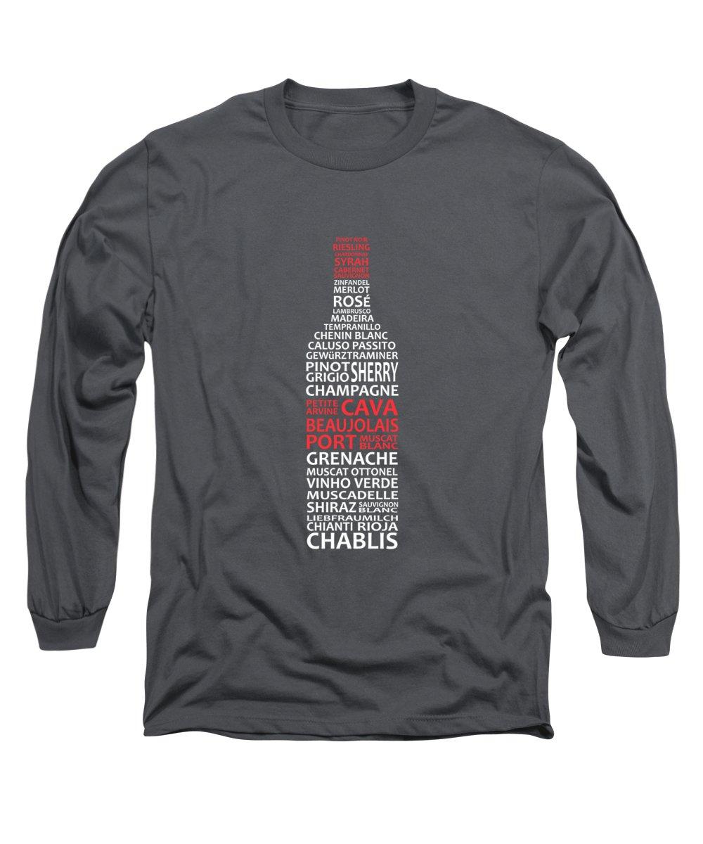 Wine Long Sleeve T-Shirts