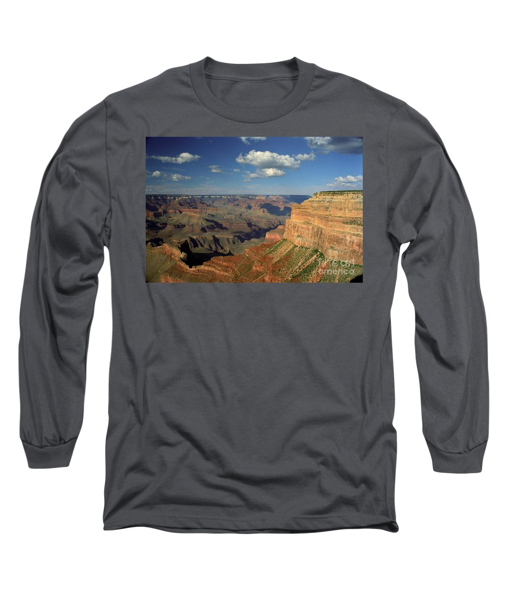 Grand Canyon Long Sleeve T-Shirt featuring the photograph This Is My Father's World by Kathy McClure