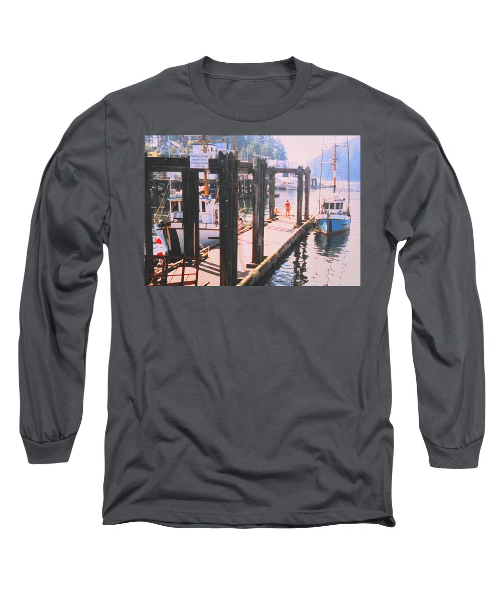 Tofino Long Sleeve T-Shirt featuring the photograph Tofino by Ian MacDonald