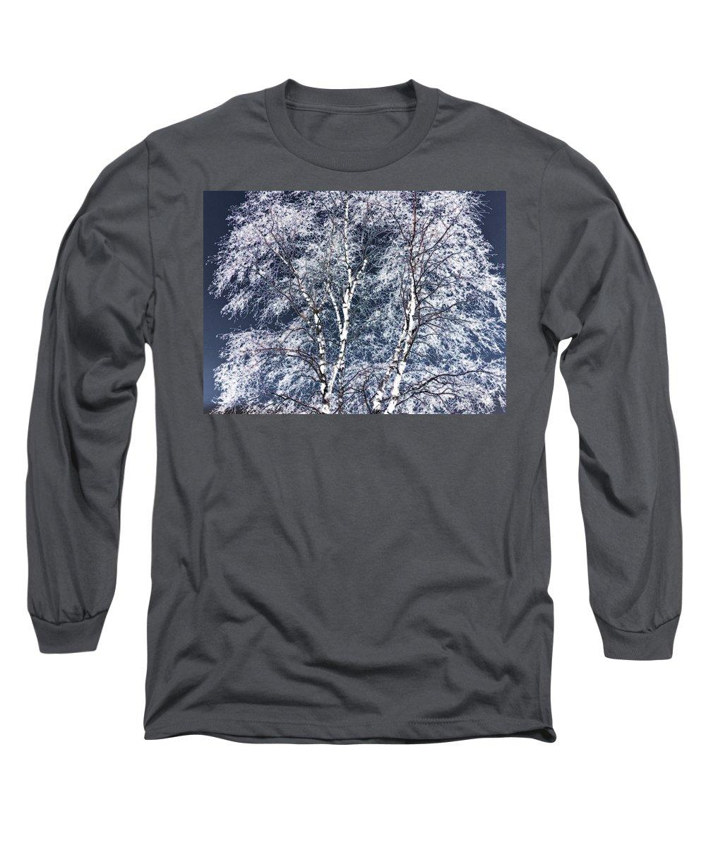 Tree Long Sleeve T-Shirt featuring the digital art Tree Fantasy 14 by Lee Santa