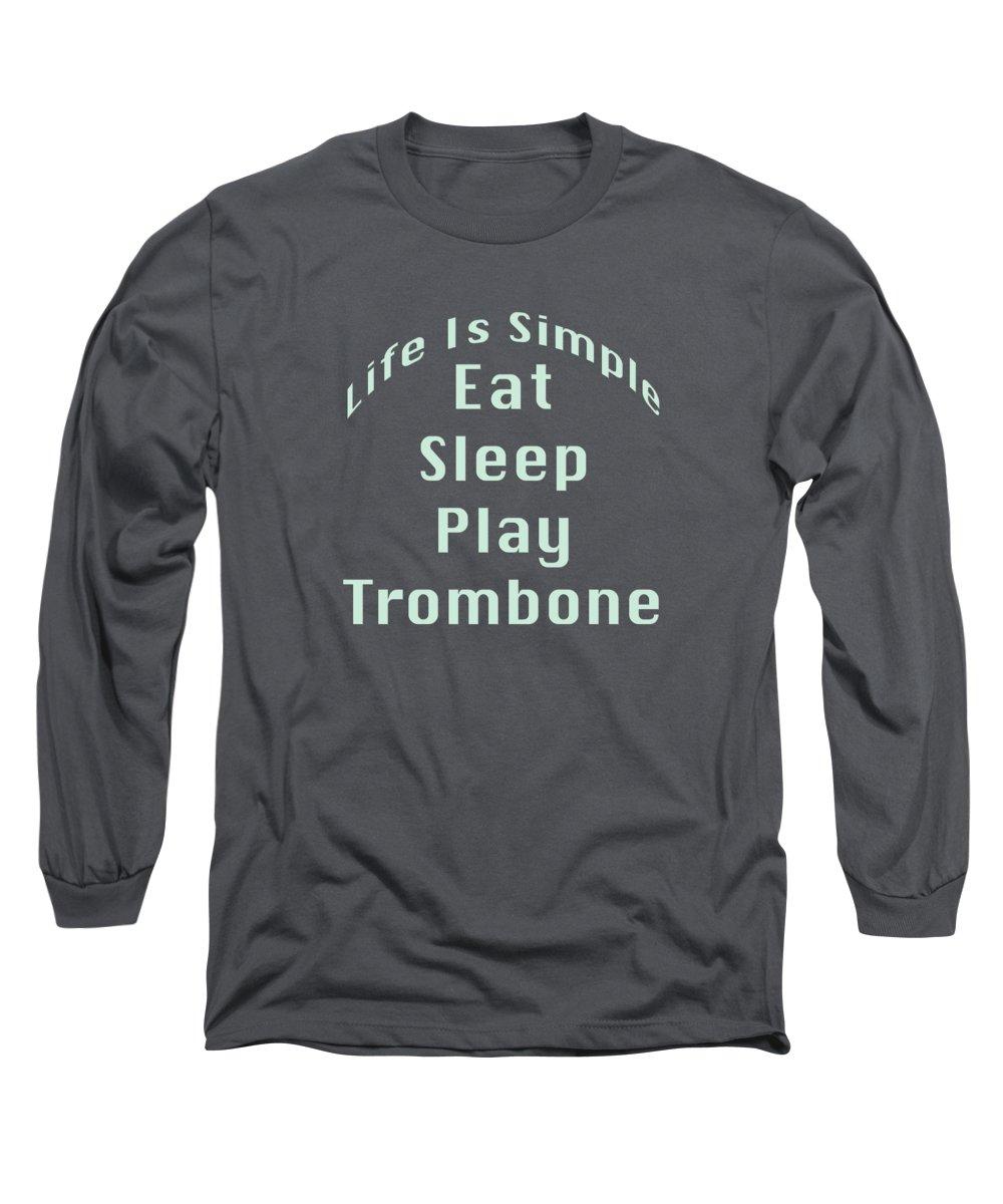 Trombone Long Sleeve T-Shirts