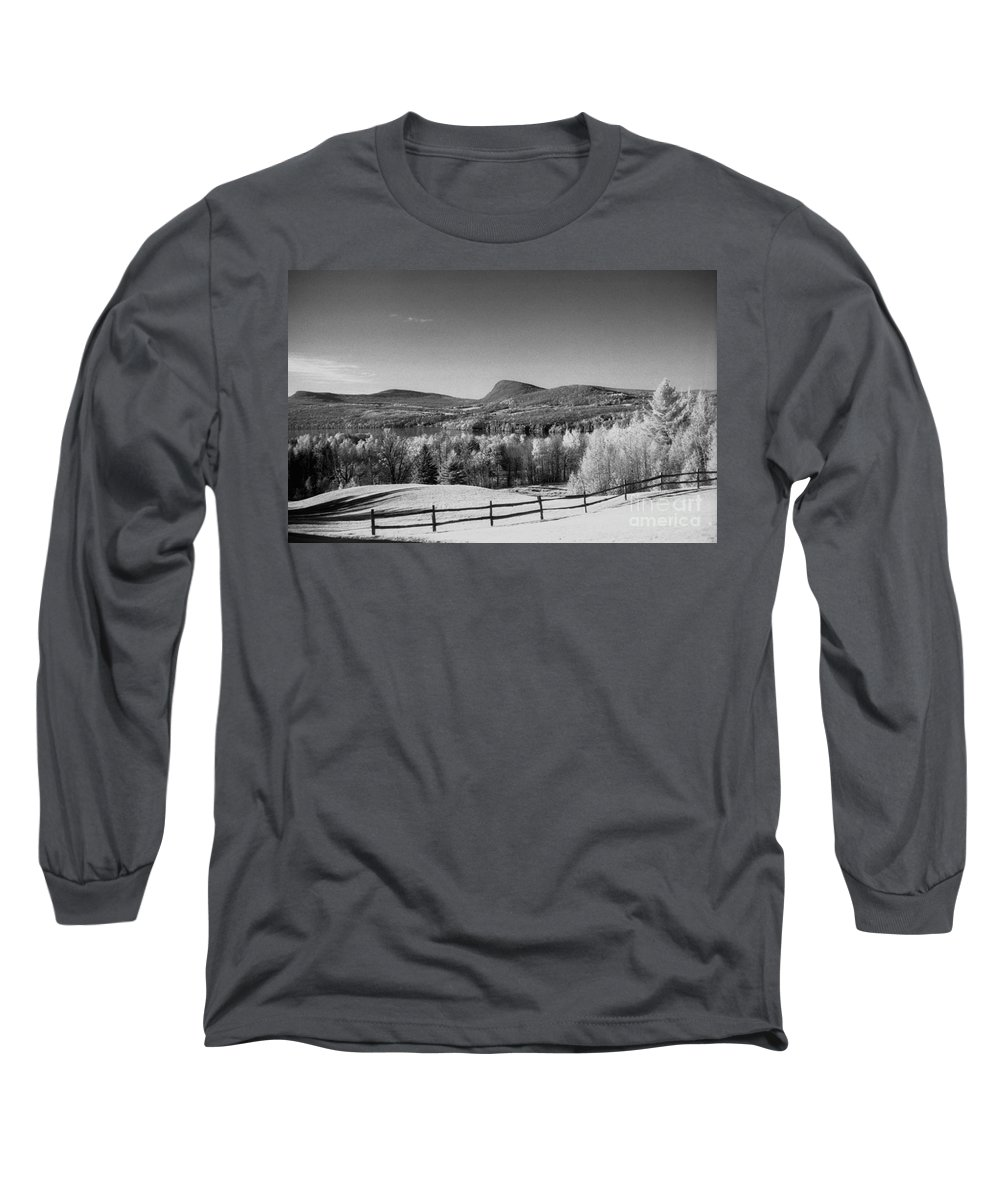 Landscape Long Sleeve T-Shirt featuring the photograph View Of Lake Willoughby by Richard Rizzo