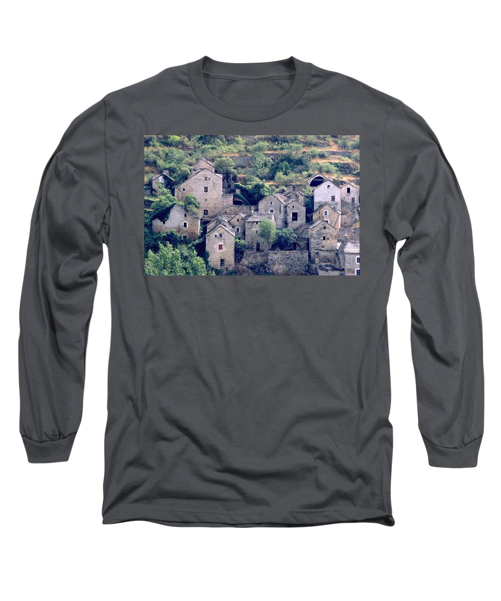 Village Long Sleeve T-Shirt featuring the photograph Village by Flavia Westerwelle