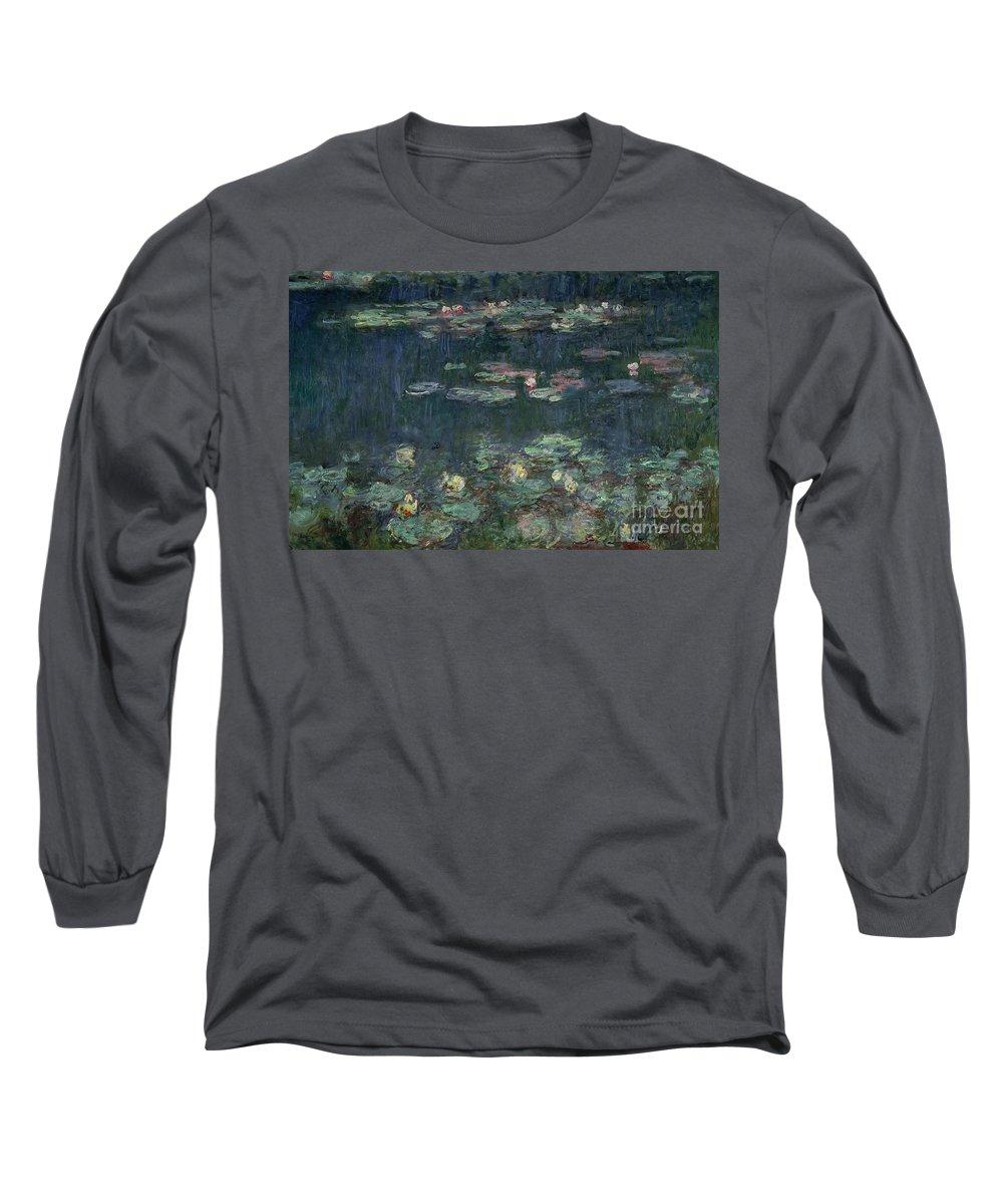 Monet Paintings Long Sleeve T-Shirts