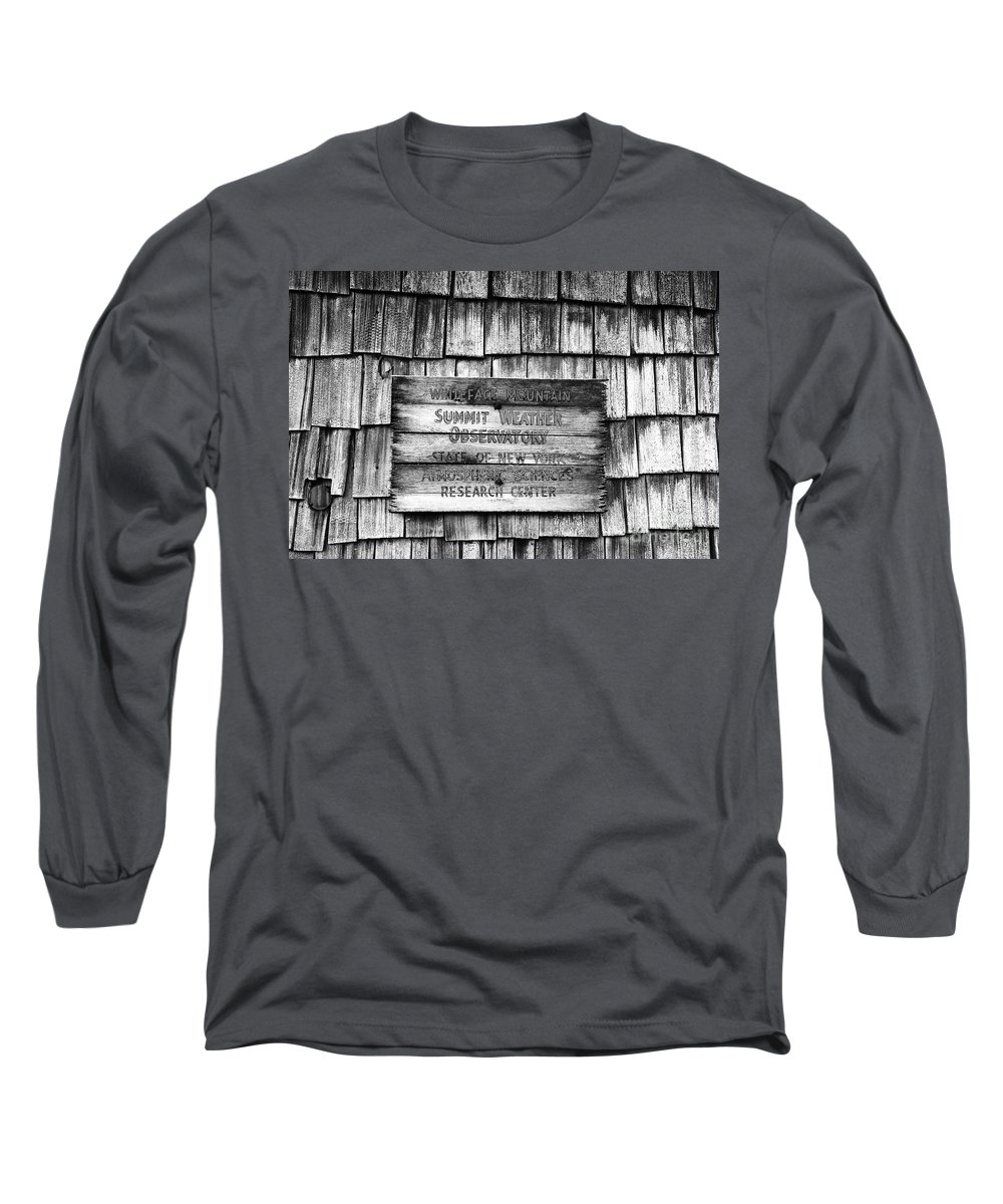 Weather Long Sleeve T-Shirt featuring the photograph Weathered by David Lee Thompson
