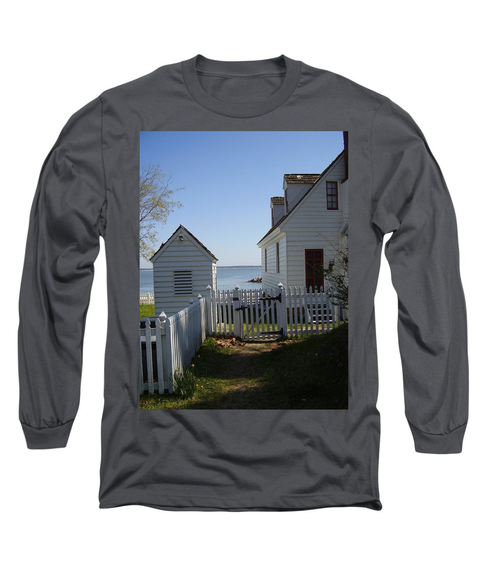 Yorktown Long Sleeve T-Shirt featuring the photograph Yorktown by Flavia Westerwelle
