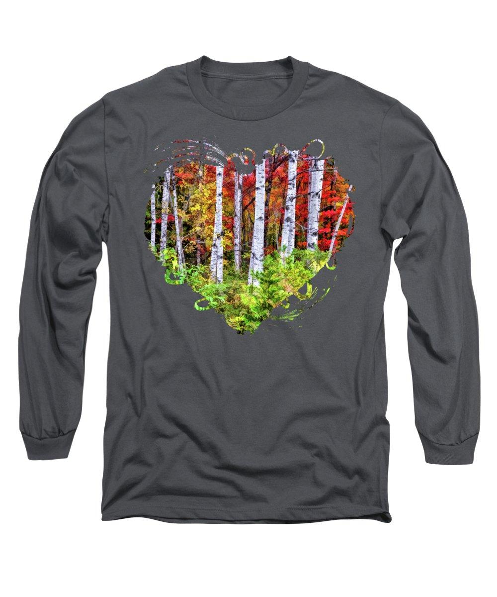 Autumn Foliage Long Sleeve T-Shirts