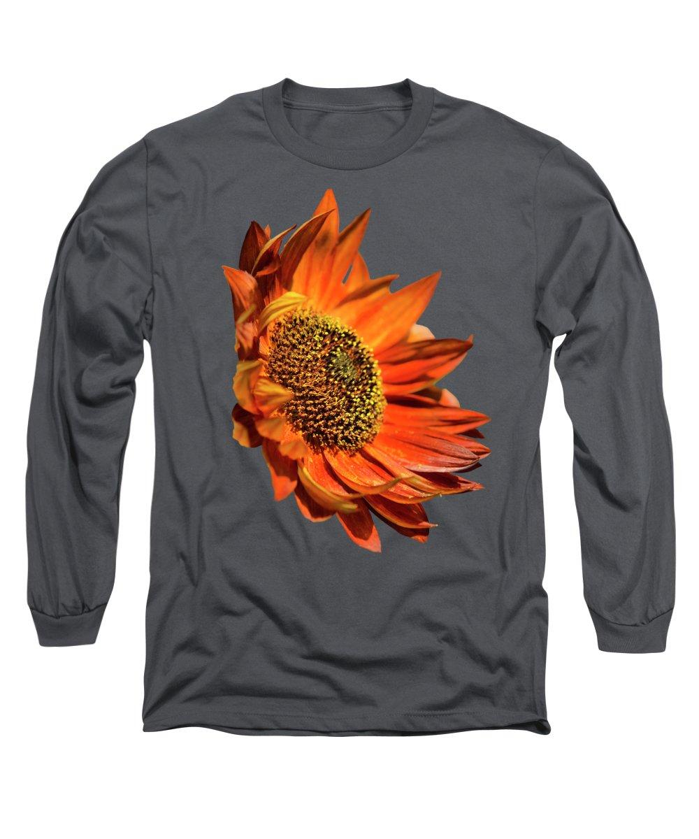 Helianthus Annuus Photographs Long Sleeve T-Shirts