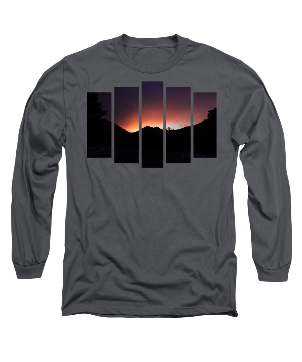 Set 63 Long Sleeve T-Shirt featuring the photograph Set 63 by Shane Bechler