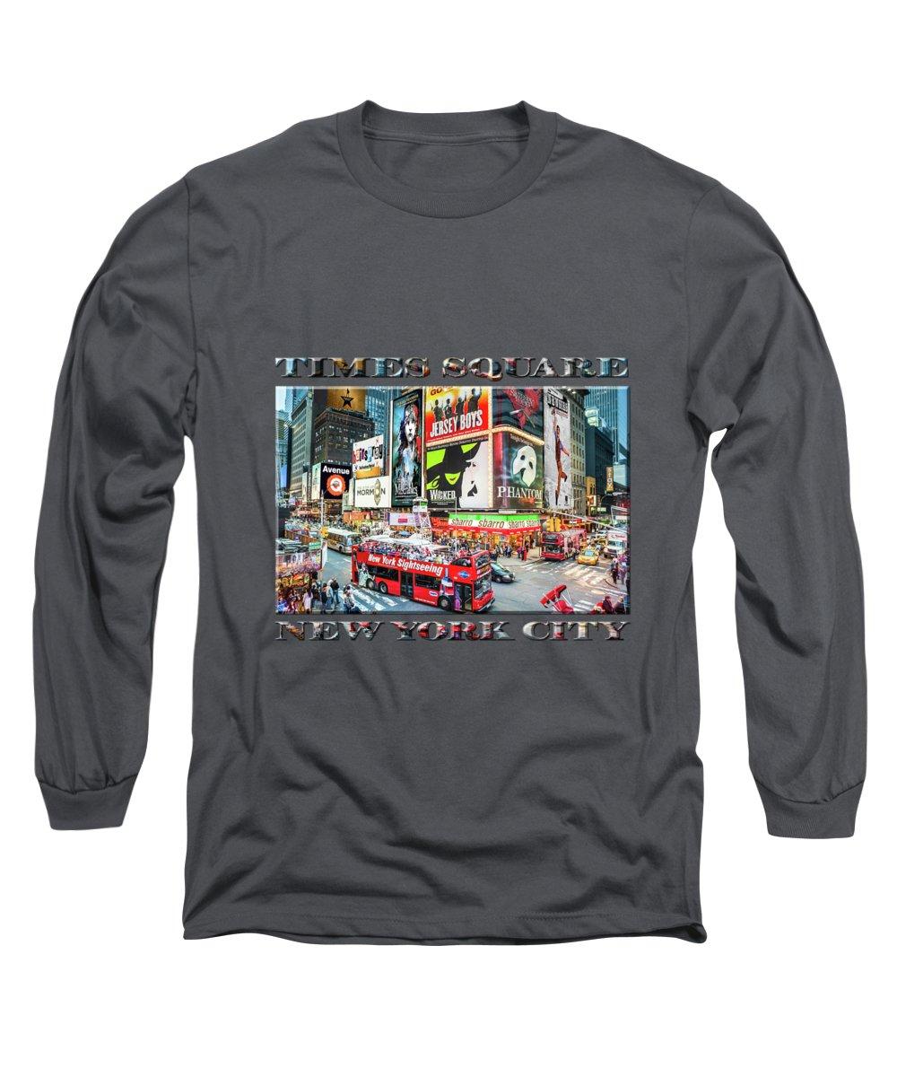 Neon Sign Photographs Long Sleeve T-Shirts