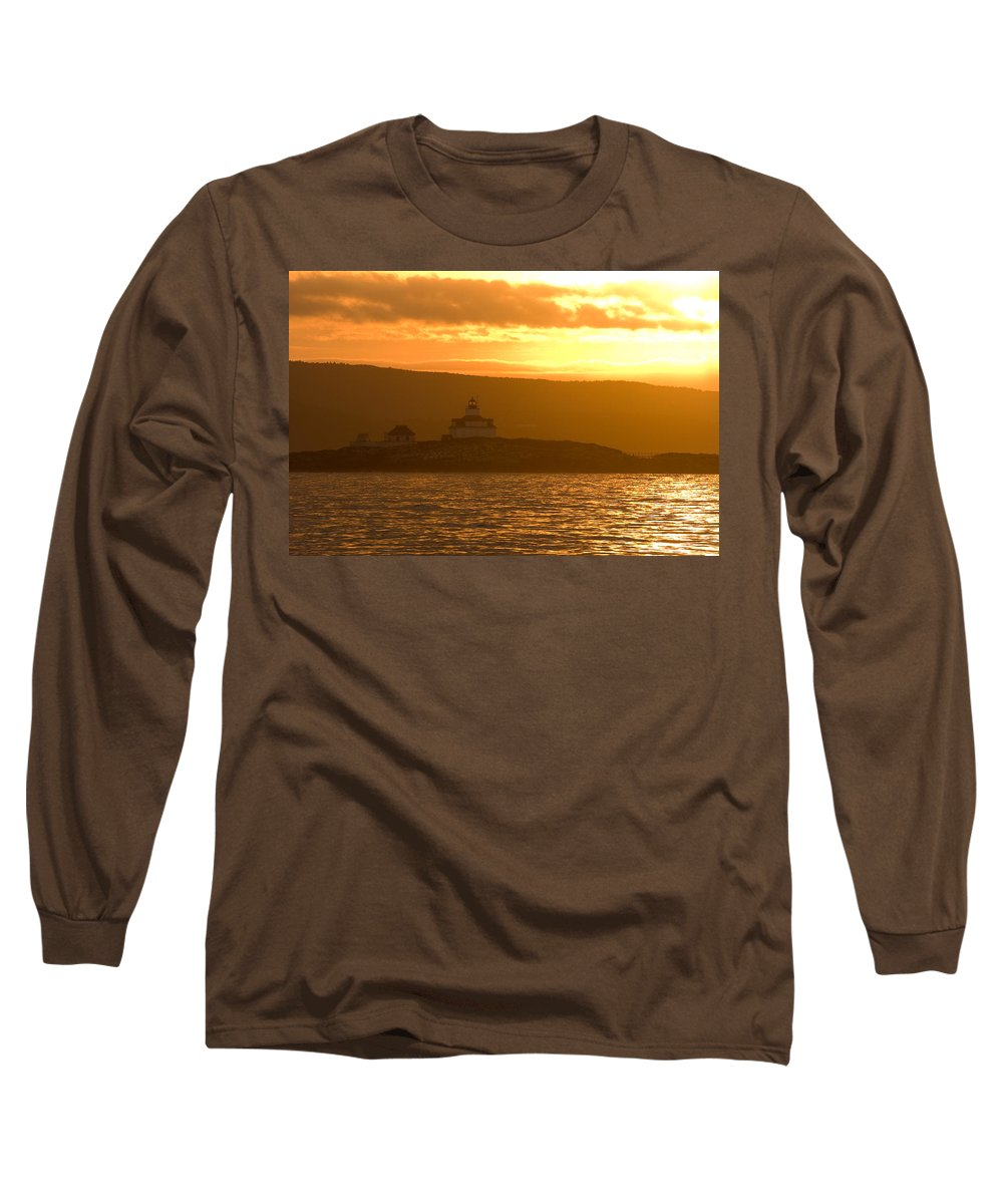 Acadia National Park Long Sleeve T-Shirt featuring the photograph Acadia Lighthouse by Sebastian Musial