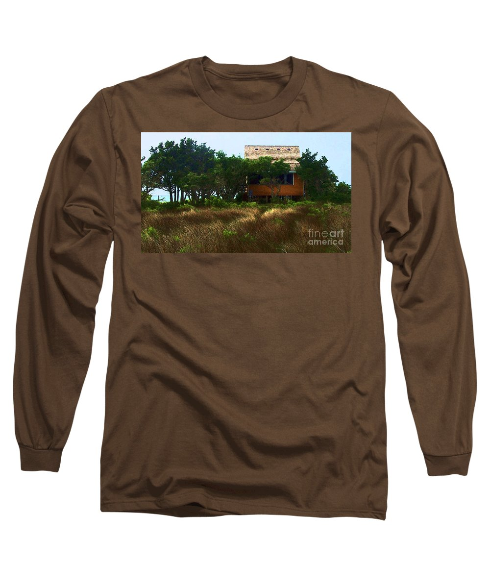 Beach Long Sleeve T-Shirt featuring the photograph Back To The Island by Debbi Granruth