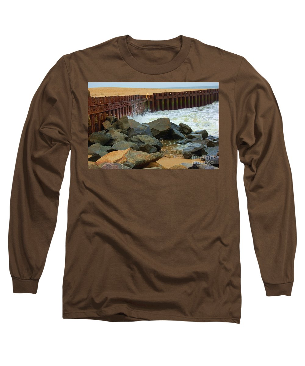 Water Long Sleeve T-Shirt featuring the photograph Coast Of Carolina by Debbi Granruth