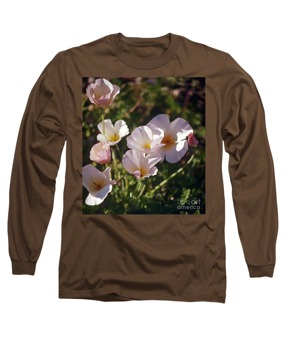 Flowers Long Sleeve T-Shirt featuring the photograph Icelandic Poppies by Kathy McClure