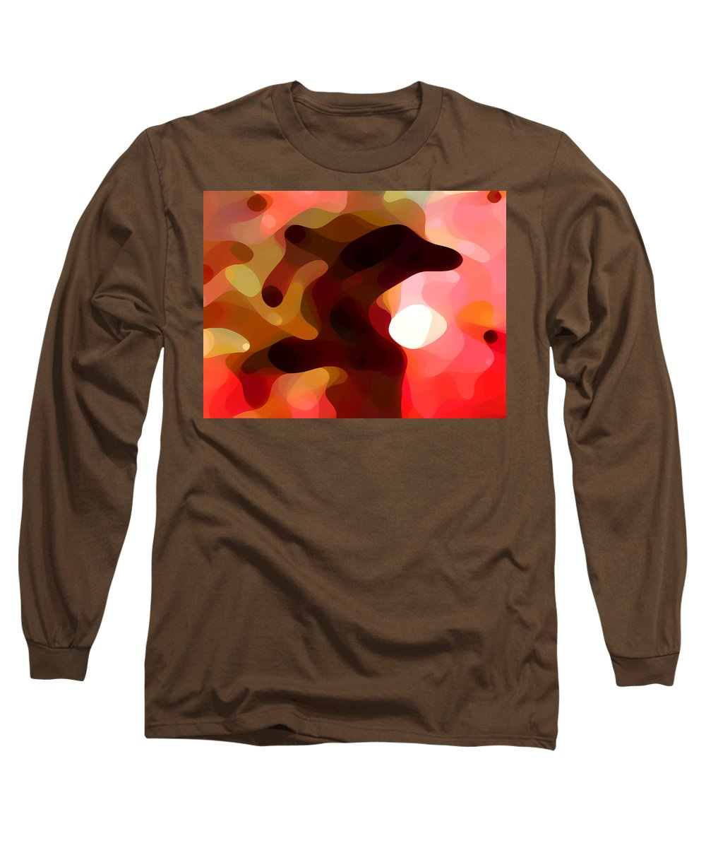 Bold Long Sleeve T-Shirt featuring the painting Las Tunas by Amy Vangsgard