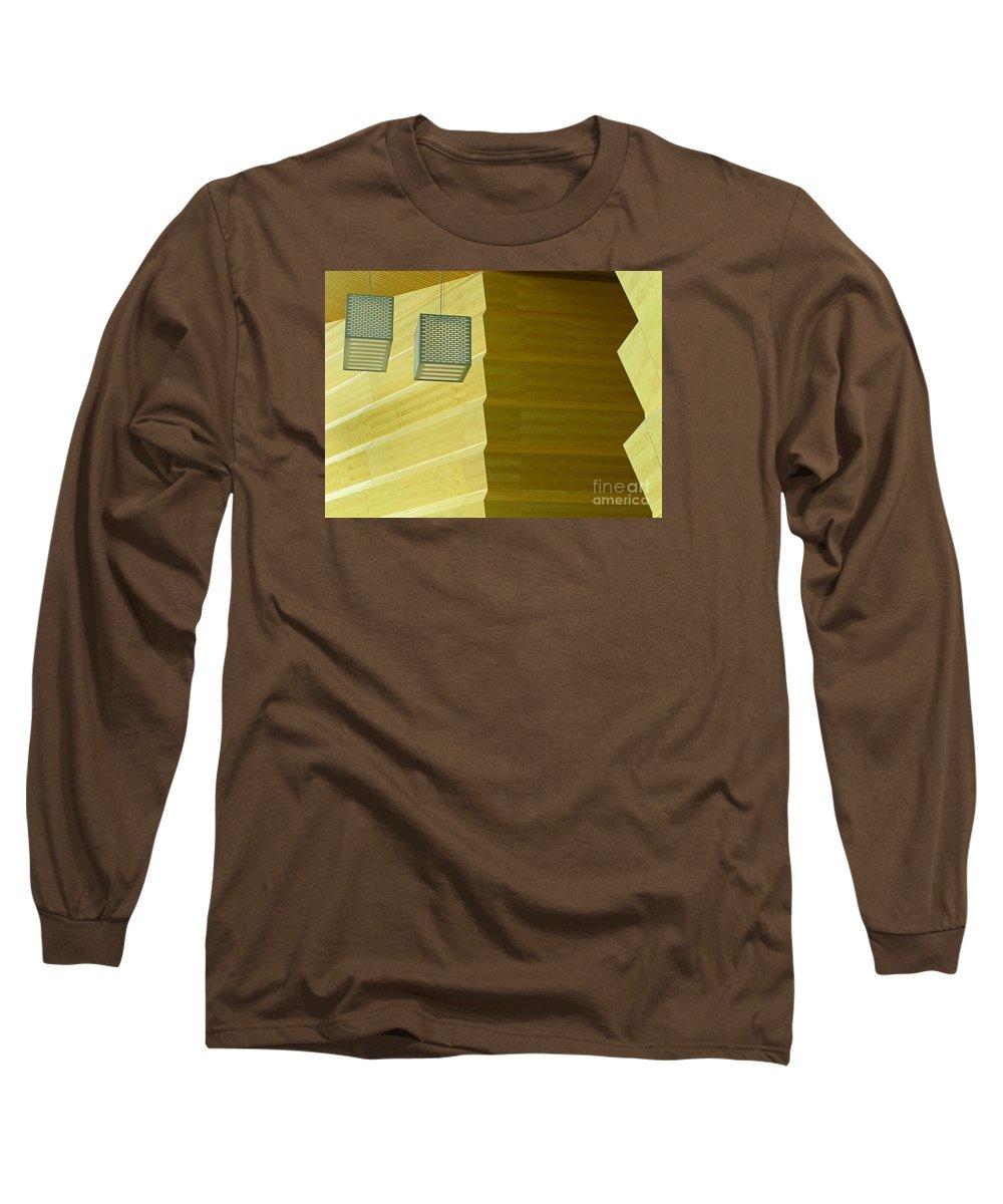 Zig-zag Long Sleeve T-Shirt featuring the photograph Zig-zag by Ann Horn