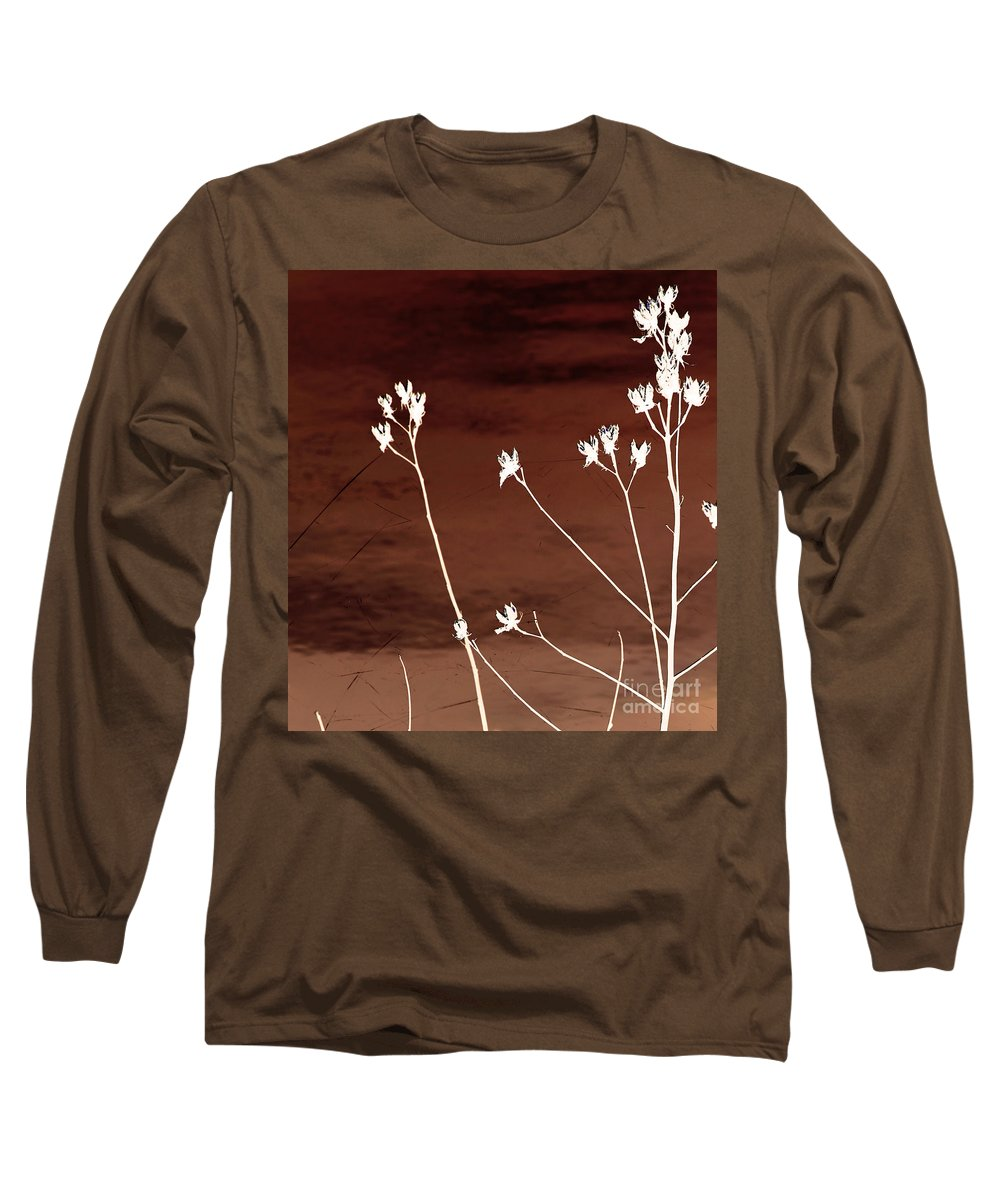 Flowers Long Sleeve T-Shirt featuring the photograph Floral by Amanda Barcon