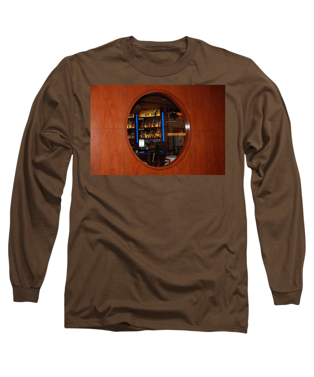 Architecture Long Sleeve T-Shirt featuring the photograph A Look Thru The Fishbowl by Rob Hans