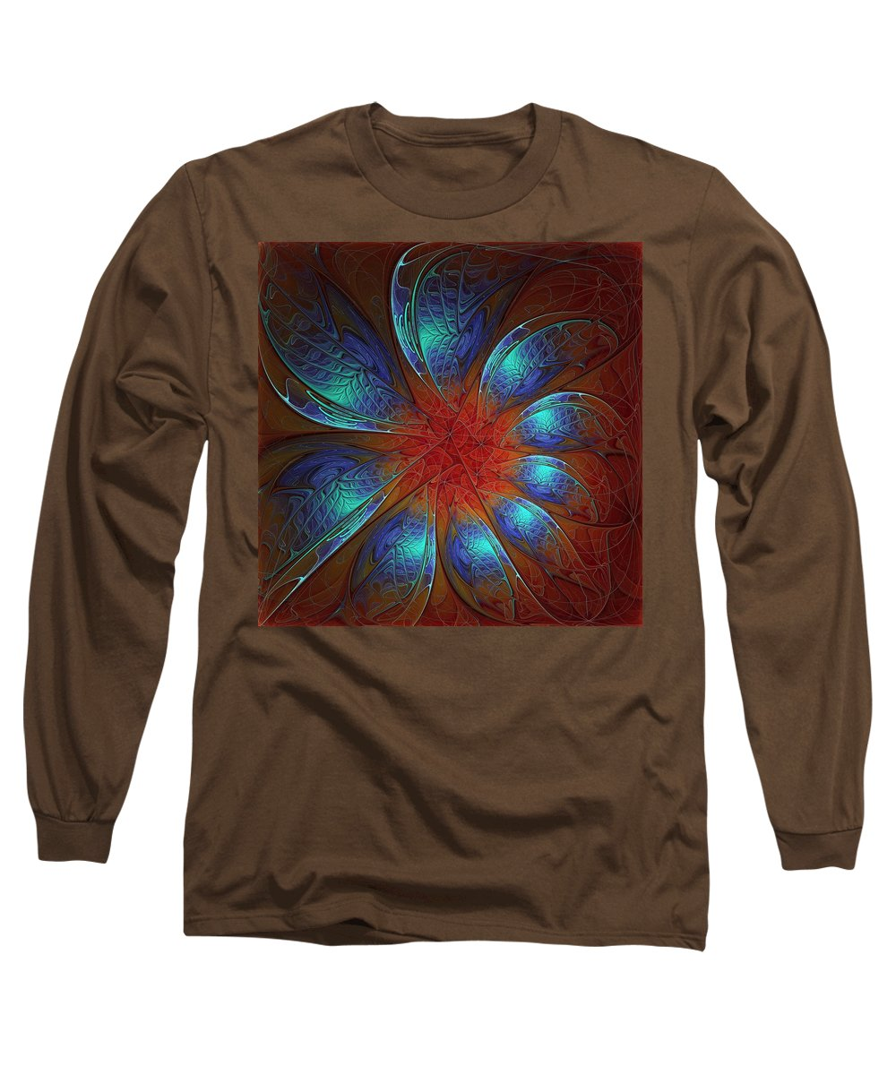 Digital Art Long Sleeve T-Shirt featuring the digital art Always And Forever by Amanda Moore