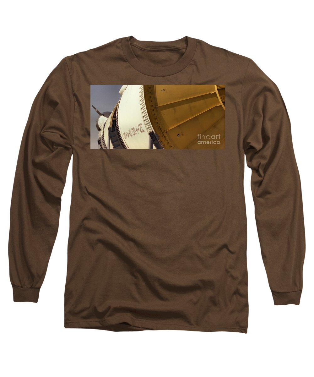 Technology Long Sleeve T-Shirt featuring the photograph Apollo Rocket by Richard Rizzo
