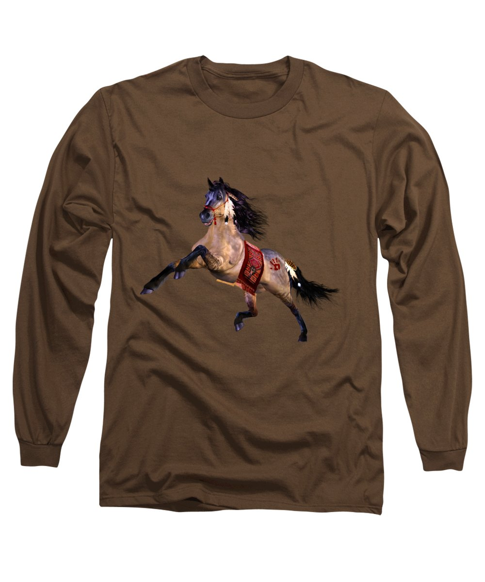Prairie Paintings Long Sleeve T-Shirts