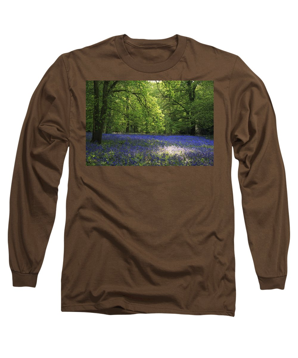 Bluebells Long Sleeve T-Shirt featuring the photograph Bluebells by Phil Crean