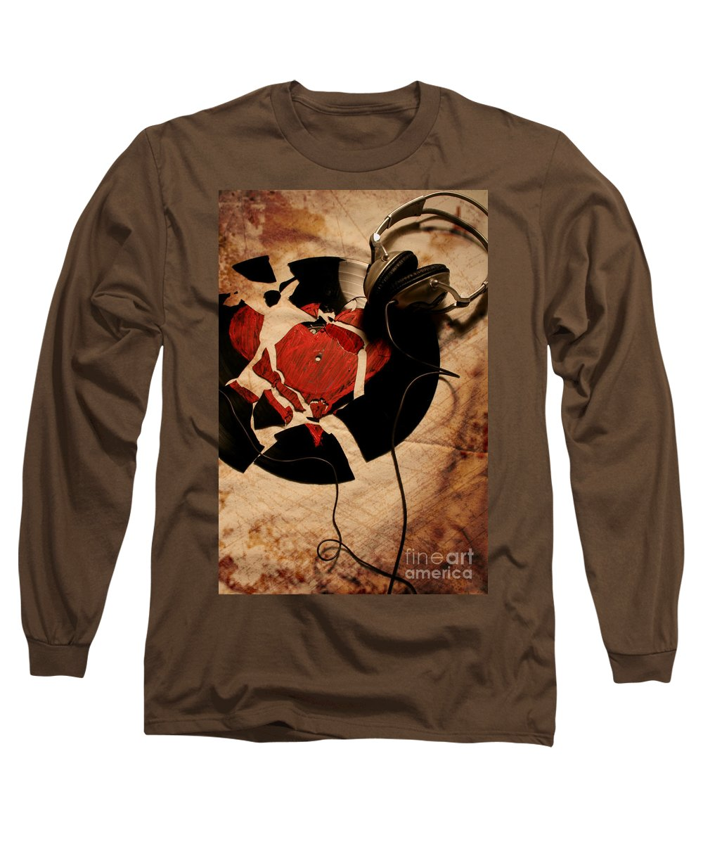 Music Long Sleeve T-Shirt featuring the photograph Broken Promises by Jason Williams