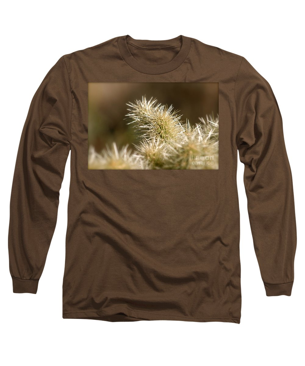 Cactus Long Sleeve T-Shirt featuring the photograph Cacti by Nadine Rippelmeyer