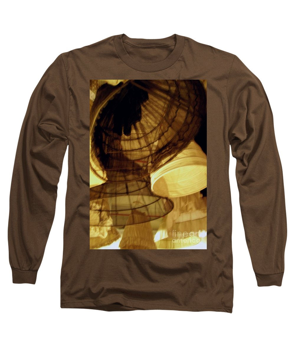 Theatre Long Sleeve T-Shirt featuring the photograph Crinolines by Ze DaLuz