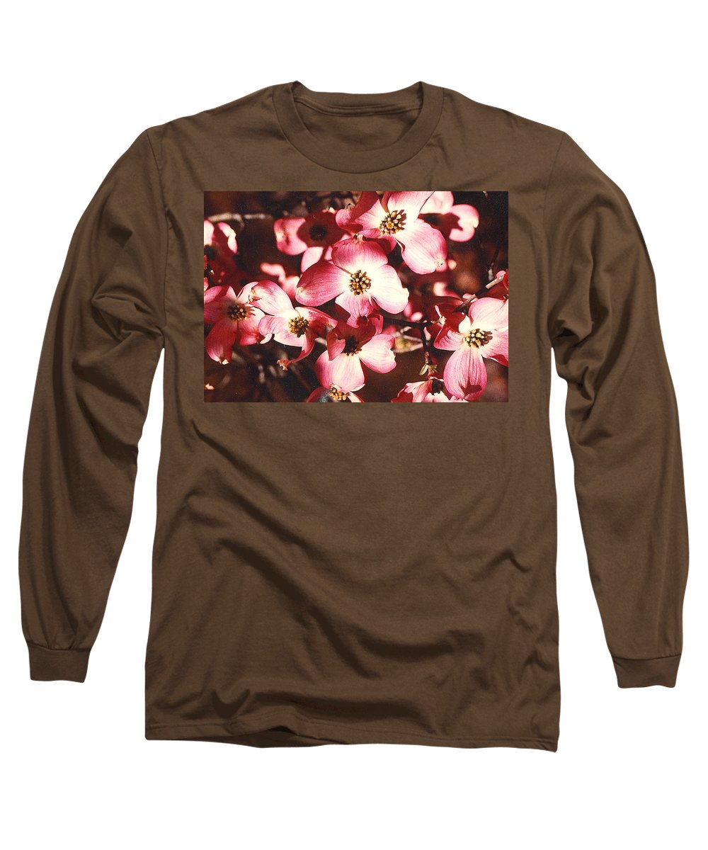 Dogwood Long Sleeve T-Shirt featuring the photograph Dogwood Harmony by Nancy Mueller