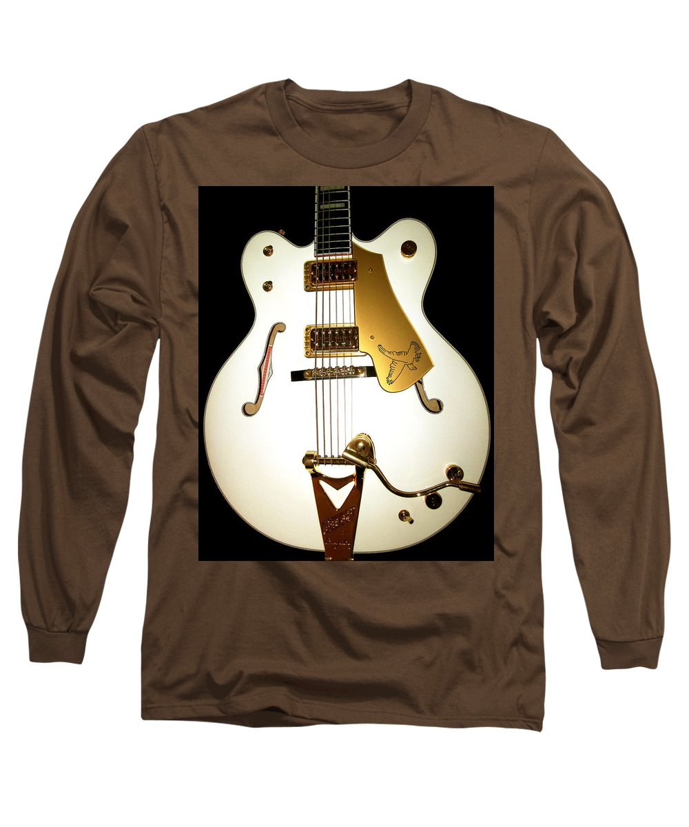 Gretsch White Falcon Long Sleeve T Shirt For Sale By Lourry Legarde