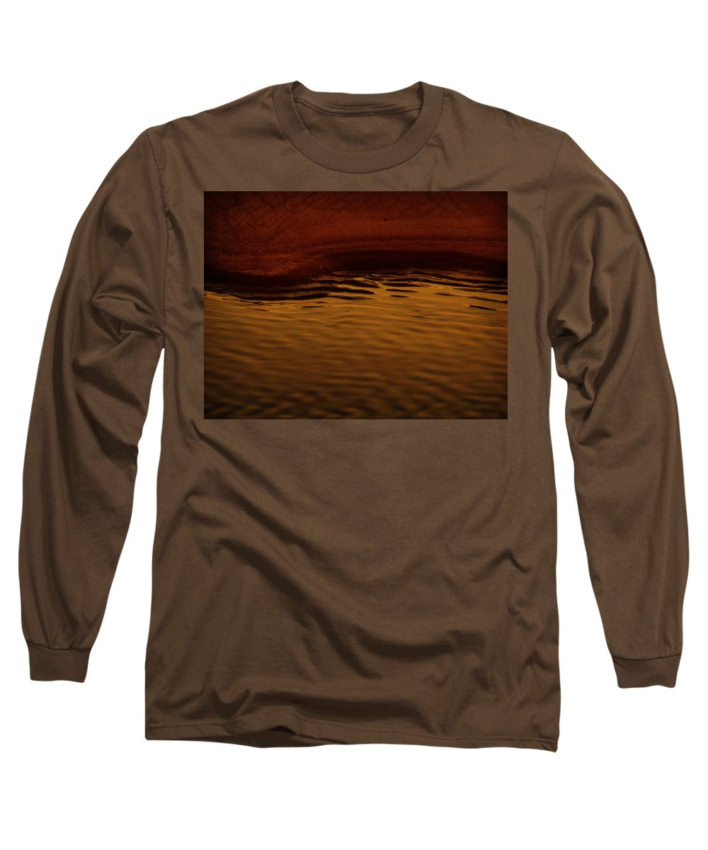 Abstract Long Sleeve T-Shirt featuring the photograph I Want To Wake Up Where You Are by Dana DiPasquale