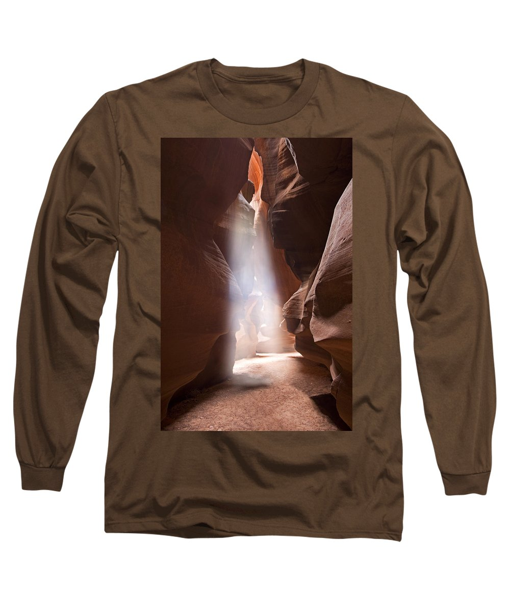 Slot Long Sleeve T-Shirt featuring the photograph Inspiration by Mike Dawson
