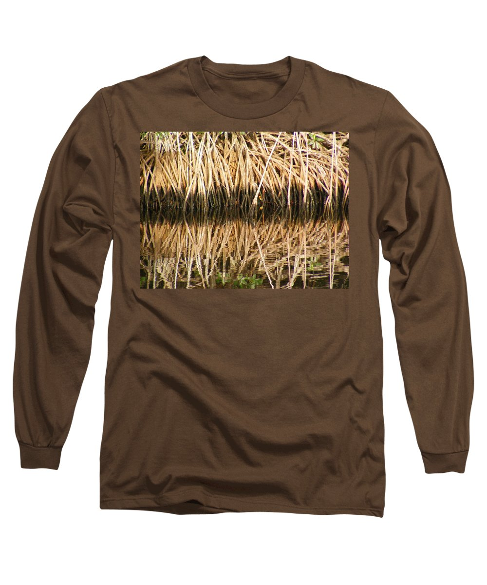 Plants Long Sleeve T-Shirt featuring the photograph Little Feet by Ed Smith