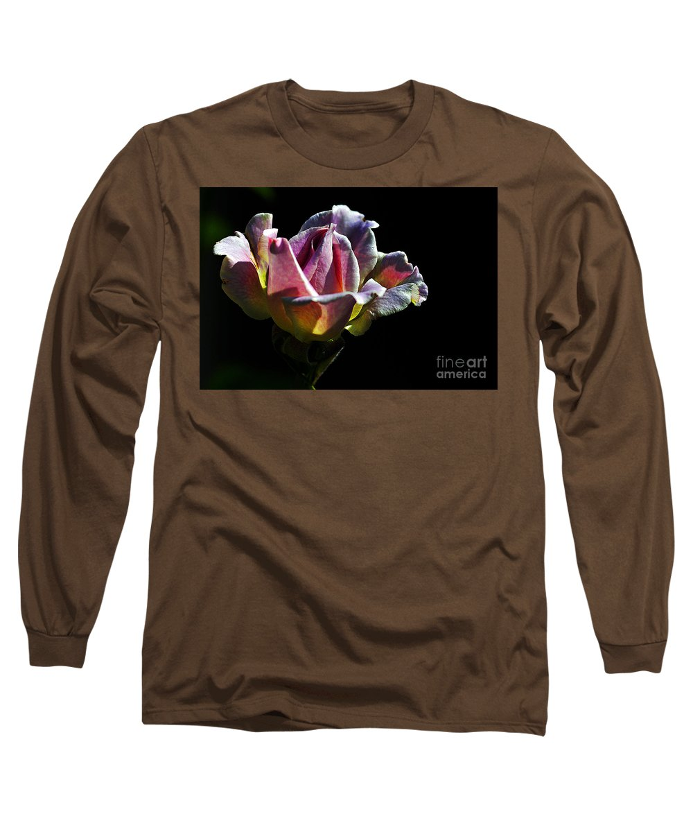 Clay Long Sleeve T-Shirt featuring the photograph Lonely by Clayton Bruster