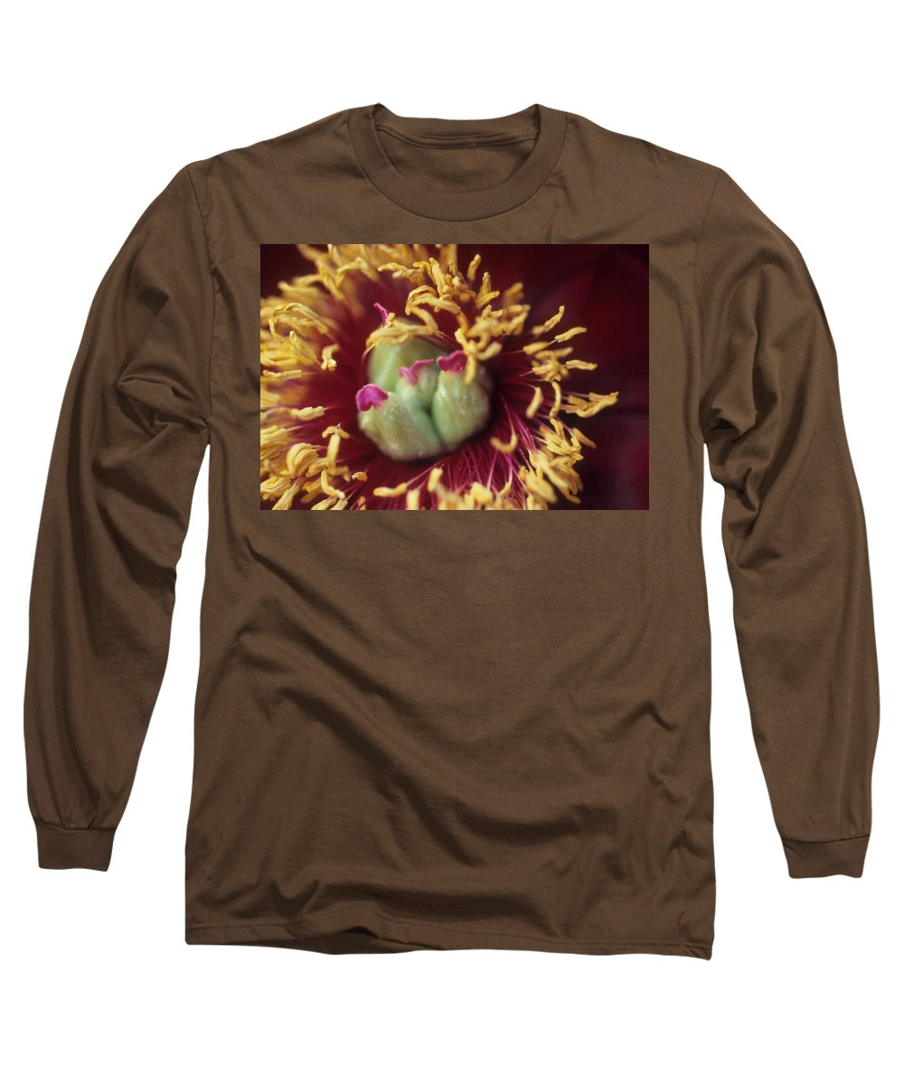 Flower Long Sleeve T-Shirt featuring the photograph Look Closely by Laurie Paci
