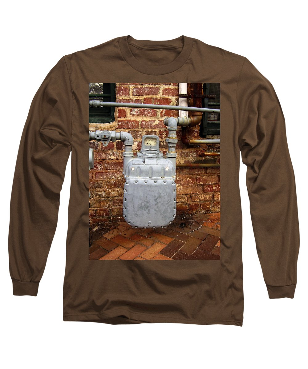 Meter Long Sleeve T-Shirt featuring the photograph Meter II In Athens Ga by Flavia Westerwelle