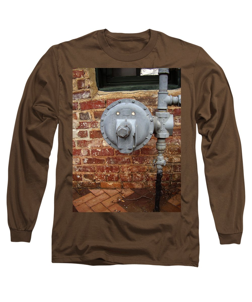 Meter Long Sleeve T-Shirt featuring the photograph Meter In Athens Ga by Flavia Westerwelle