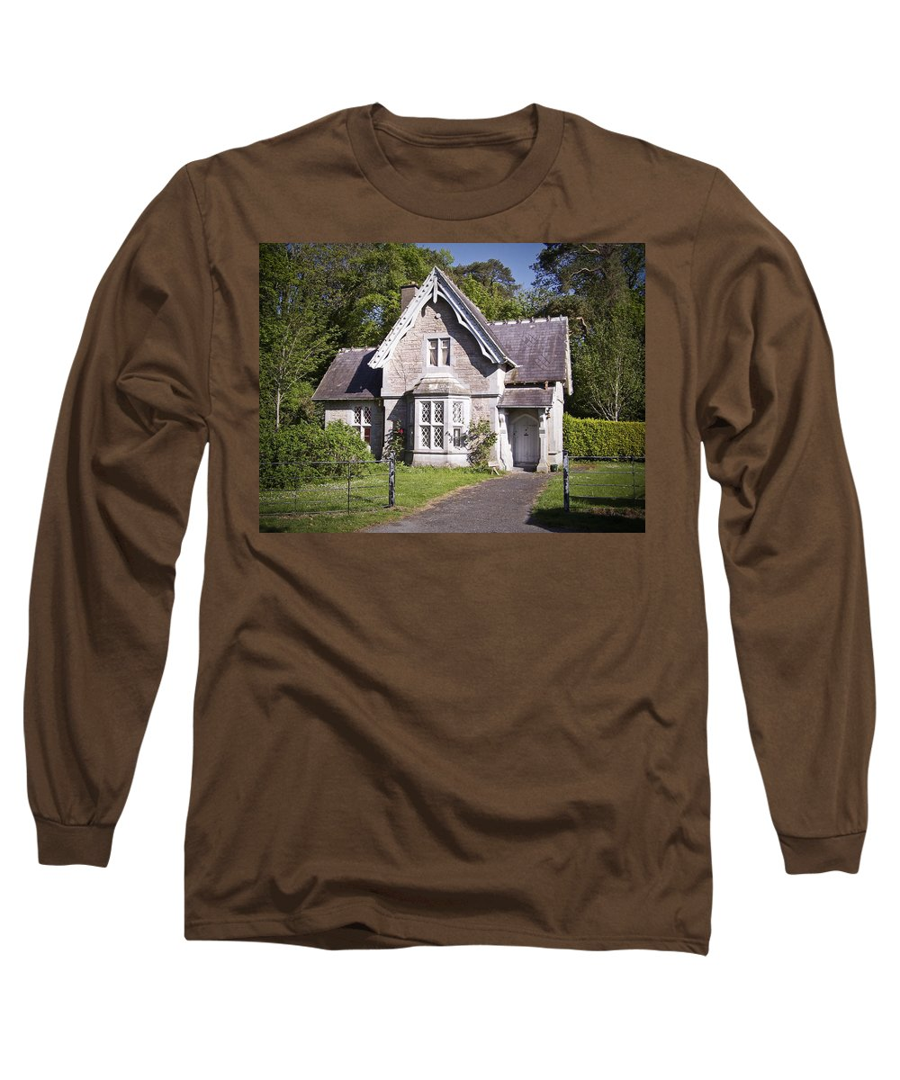 Irish Long Sleeve T-Shirt featuring the photograph Muckross Cottage Killarney Ireland by Teresa Mucha