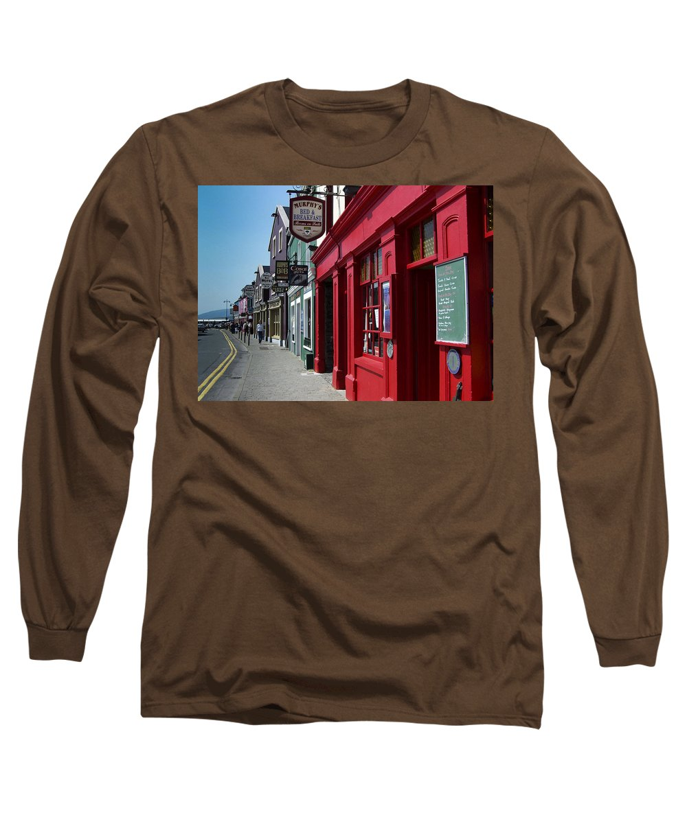 Irish Long Sleeve T-Shirt featuring the photograph Murphys Bed And Breakfast Dingle Ireland by Teresa Mucha