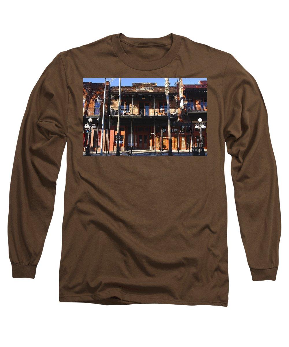 Ybor City Florida Long Sleeve T-Shirt featuring the photograph Old Ybor by David Lee Thompson